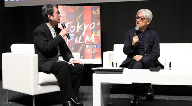 『Ryuichi Sakamoto: CODA』東京国際映画祭でSAMURAI賞を授賞!舞台挨拶&授賞記念トーク
