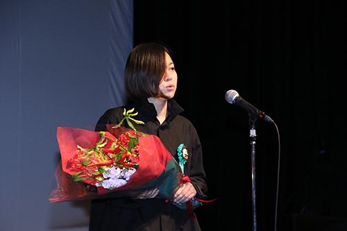 第9回TAMA映画賞授賞式_瀬田なつき監督