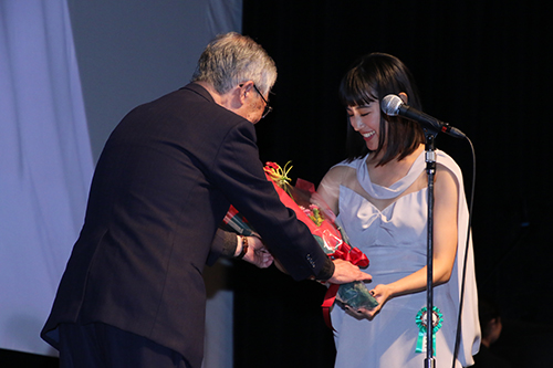 第9回TAMA映画賞授賞式_石橋静河