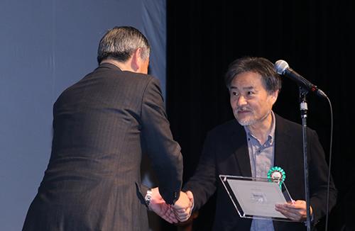 第9回TAMA映画賞授賞式_黒沢清監督