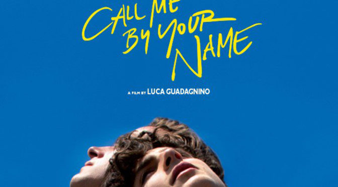 『Call Me By Your Name』ゴールデングローブ賞3部門でノミネート
