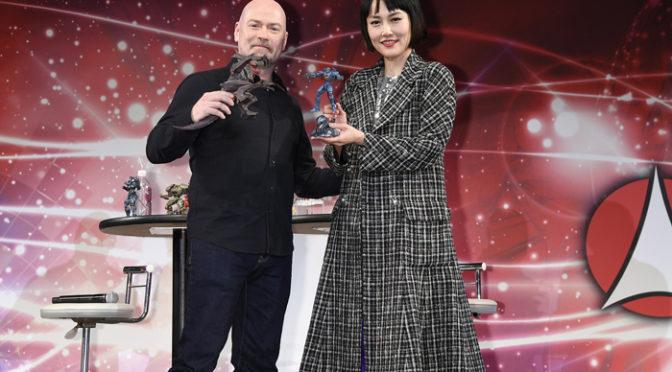 デナイト監督・菊地凛子 東京コミコン2017『パシフィック・リム:アップライジング』映像お披露目に登壇