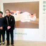 「モリのいる場所」試写会に山﨑努さん、沖田修一監督サプライズ登壇!