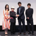 『祈りの幕が下りる時』大阪で阿部寛、松嶋菜々子、溝端淳平サプライズ舞台挨拶