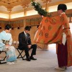 阿部寛、松嶋菜々子が水天宮で映画『祈りの幕が下りる時』大ヒット祈願!
