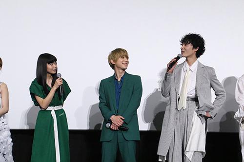 二階堂ふみ 上杉柊平「リバーズ・エッジ」公開記念舞台挨拶