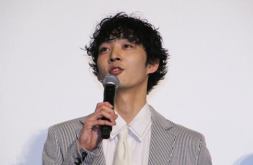 杉柊平「リバーズ・エッジ」公開記念舞台挨拶