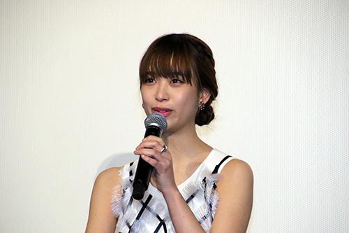森川葵「リバーズ・エッジ」公開記念舞台挨拶