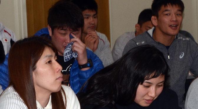 吉田沙保里選手をはじめ、日本レスリング選手が『ダンガル きっと、つよくなる』試写!