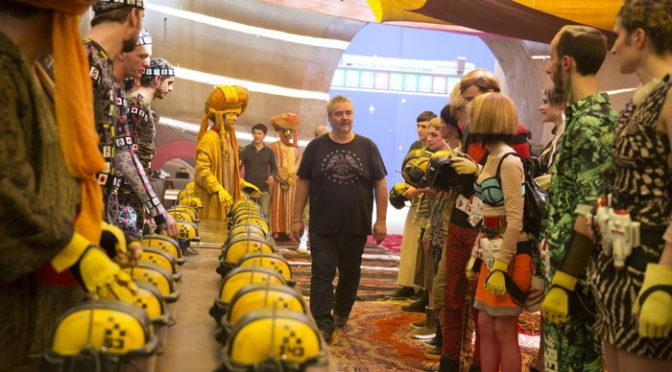 リュック・ベッソン監督が本作を熱く語った!!『ヴァレリアン千の惑星の救世主』