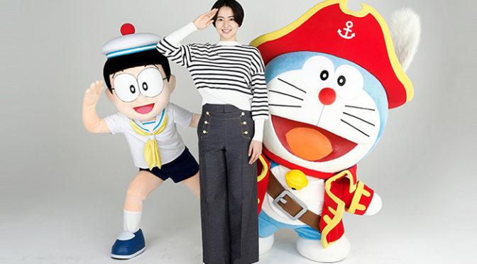 長澤まさみゲスト声優出演決定!『映画ドラえもん のび太の宝島』コメントも到着!
