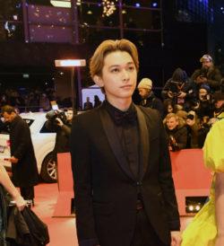 吉沢亮 第68回ベルリン国際映画祭レッドカーペット『リバーズ・エッジ』