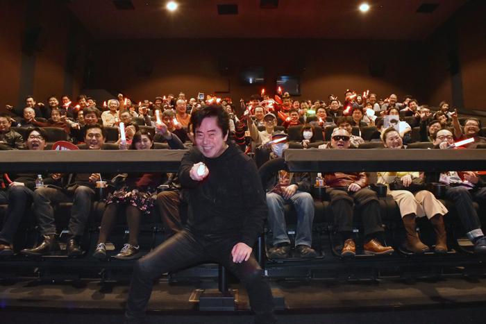 水木一郎と4DX応援上映だゼーット!『劇場版 マジンガーZ / INFINITY』 in 豊洲