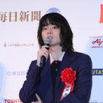 菅田将暉 長澤まさみ ら受賞者登場『第72回毎日映画コンクール』