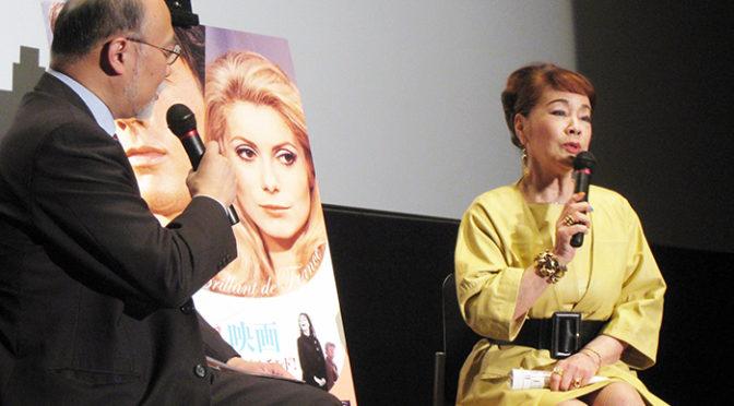 芳村真理 アラン・ドロンやカトリーヌ・ドヌーヴらに会った時の秘話披露!「華麗なるフランス映画」の初日