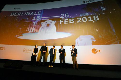 二階堂ふみ、吉沢亮、行定勲監督 第68回ベルリン国際映画祭『リバーズ・エッジ』