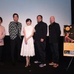 服部彩加、小柳友登壇 ゲストにコンドルズも!映画『ANIMAを撃て!』完成披露試写会