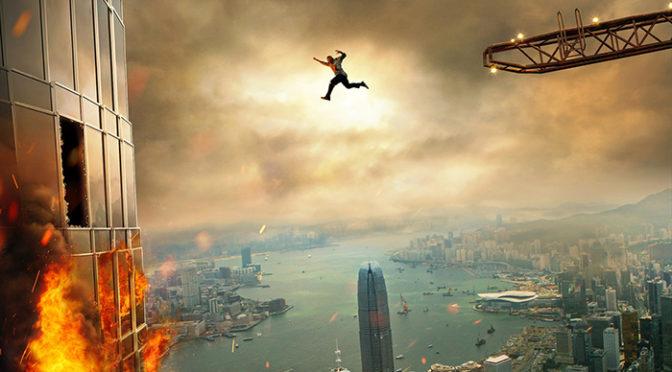 『スカイスクレイパー』超高層!超豪華!超安全ビル!の崩壊危機。日本版特報解禁!