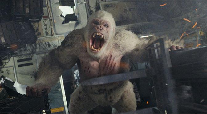 ドウェイン・ジョンソン『ランペイジ 巨獣大乱闘』最恐巨獣のスペック大公開
