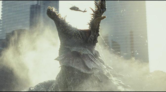 巨大化が止まらない!?『ランペイジ 巨獣大乱闘』逃げるが勝ち!!大ド迫力の予告編初解禁