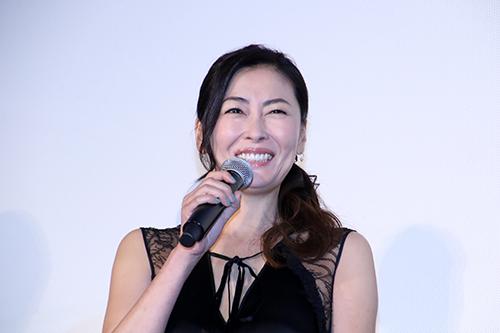 中山美穂 『ママレード・ボーイ』公開記念舞台挨拶