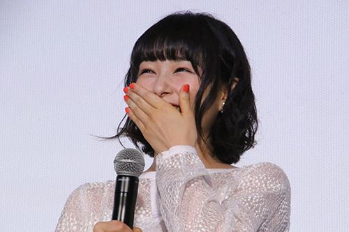 桜井日奈子『ママレード・ボーイ』公開記念舞台挨拶