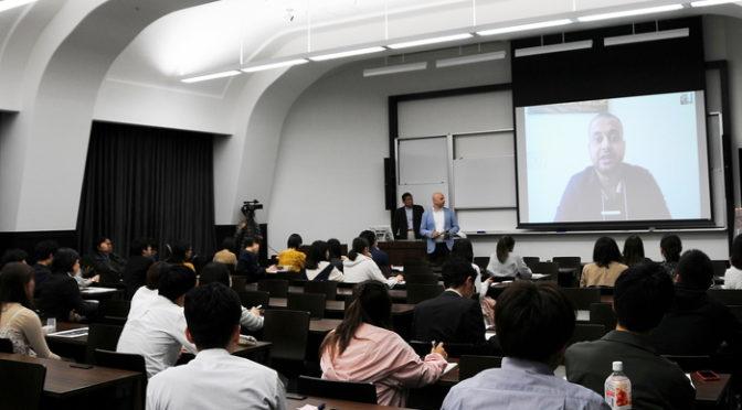 映画『ラッカは静かに虐殺されている』トークin早稲田大学 学生RBSSメンバー、ハッサンへのインタビュー
