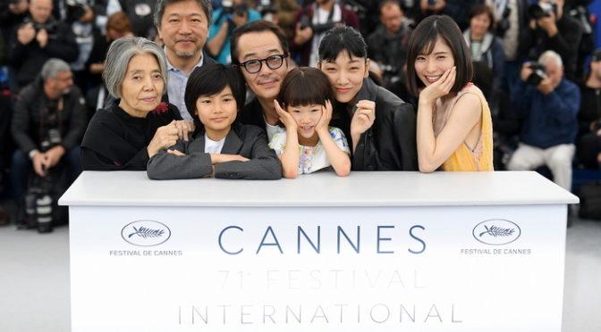 是枝裕和監督『万引き家族』第71回カンヌ国際映画祭フォトコール&公式記者会見