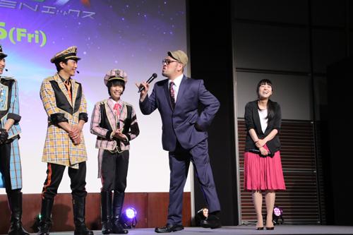 くっきー ( 野性爆弾 ) 小室直子監督 「劇場版 ドルメンX」 特別試写会ファン感謝デー