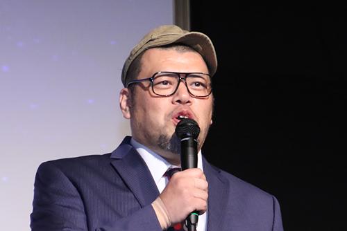 くっきー ( 野性爆弾 )「劇場版 ドルメンX」 特別試写会ファン感謝デー<br />