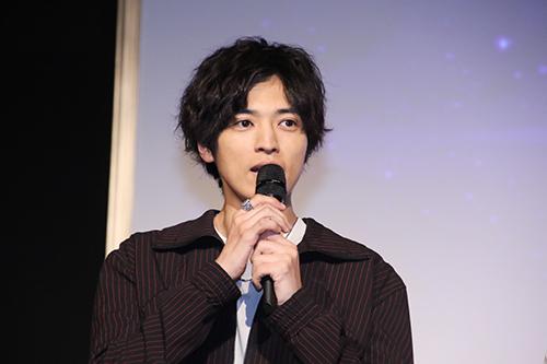 桐山漣「劇場版 ドルメンX」 特別試写会ファン感謝デー