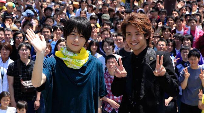 北九州市大規模撮影エキストラ3000人!劇場版『仮面ライダービルド』