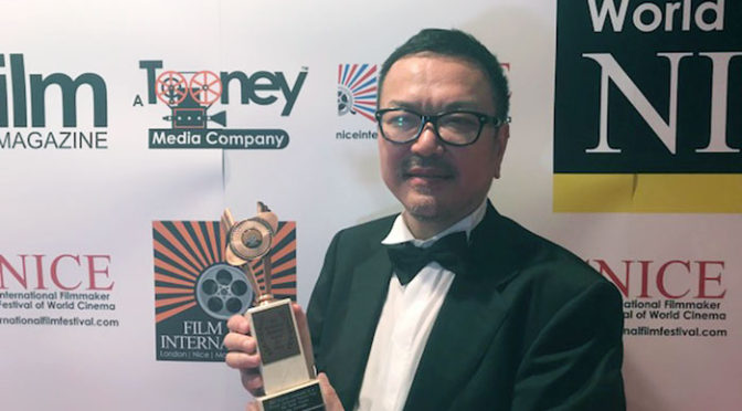 映画『私は絶対許さない』ニース国際映画祭脚本賞受賞