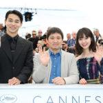 東出昌大、唐田えりか フォトコール&記者会見『寝ても覚めても』カンヌ国際映画祭