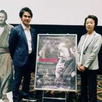 松田美智子x三船力也x脇田巧彦こうのすシネマにて『MIFUNE:THE LAST SAMURAI』トークイベント