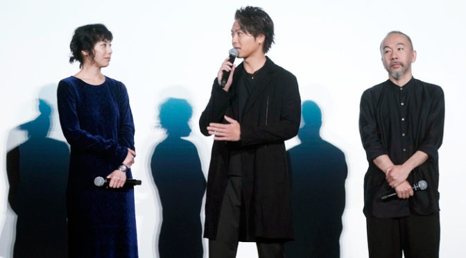 TAKAHIRO、夏帆、塚本晋也登壇!『ウタモノガタリ-CINEMA FIGHTERS project-』舞台挨拶