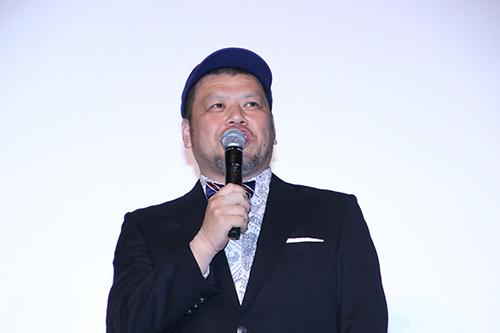 くっきー(野性爆弾)【劇場版ドルメンX】初日舞台挨拶
