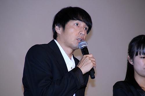 徳井義実【劇場版ドルメンX】初日舞台挨拶