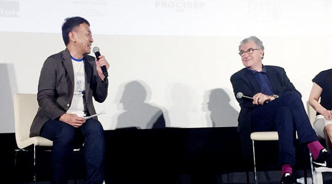 セルジュ・トゥビアナ ゴダールを大いに語った!『グッバイ・ゴダール!』フランス映画祭2018トークイベント