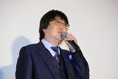 『空飛ぶタイヤ』公開記念舞台挨拶_六角精児