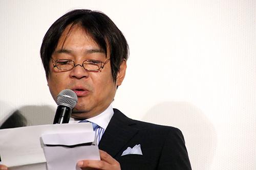 『空飛ぶタイヤ』公開記念舞台挨拶_本木克英監督