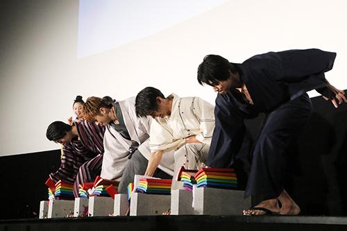 佐野玲於、中川大志、高杉真宙、横浜流星『虹色デイズ』公開記念