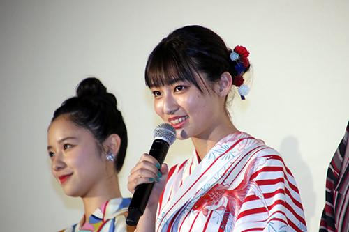 吉川愛『虹色デイズ』公開記念