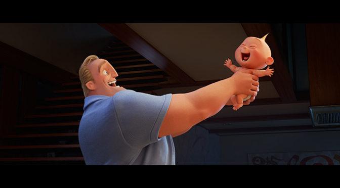 『インクレディブル・ファミリー』最強赤ちゃんジャック・ジャック!スーパーパワー&スーパーキュートな新映像解禁
