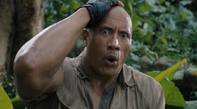 ドウェイン・ジョンソンのかわいすぎる映像到着!『ジュマンジ/ウェルカム・トゥ・ジャングル』BD・DVD発売間近!