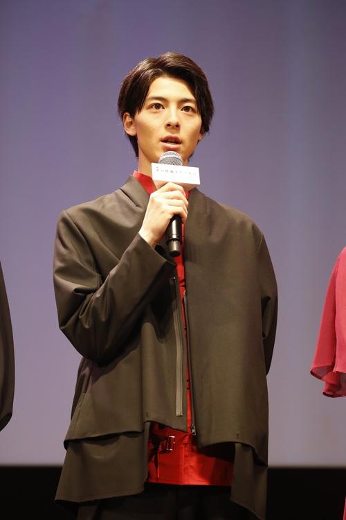 高杉真宙 劇場アニメ『君の膵臓をたべたい』完成披露試写会