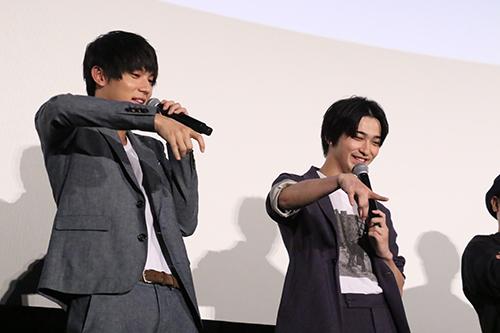 中川大志、横浜流星 映画『虹色デイズ』舞台挨拶