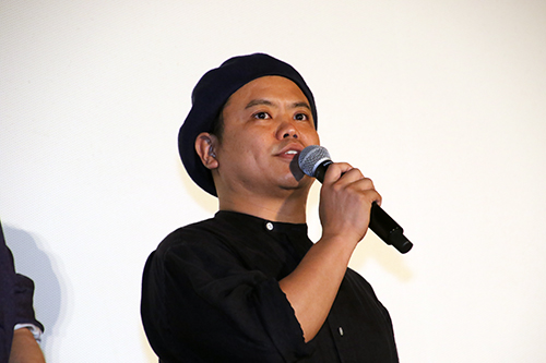 飯塚健監督 映画『虹色デイズ』舞台挨拶