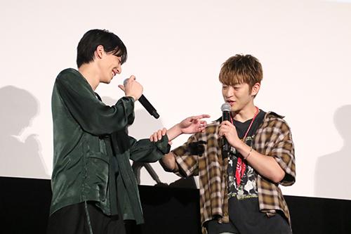 佐野玲於(GENERATIONS from EXILE TRIBE)、高杉真宙 映画『虹色デイズ』舞台挨拶