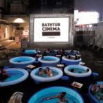 ナイトプールの次はコレ! 『BATHTUB CINEMA (バスタブシネマ)』映画鑑賞&DJプレイ